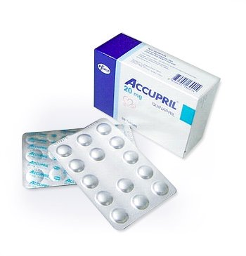 Accupril 20mg, Quinapril HCl